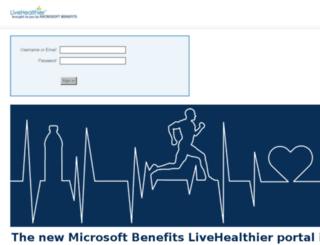 livelifewell.livehealthier.com screenshot