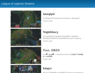 livelolstreams.com screenshot