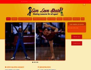 liveloveskate.com screenshot