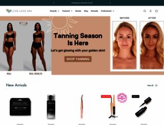 livelovespa.com screenshot