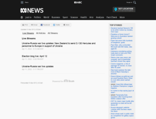 livenews.abc.net.au screenshot
