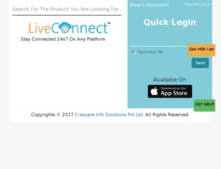liveorder.in screenshot