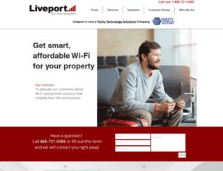 liveport.com screenshot