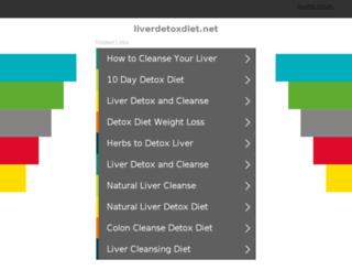 liverdetoxdiet.net screenshot
