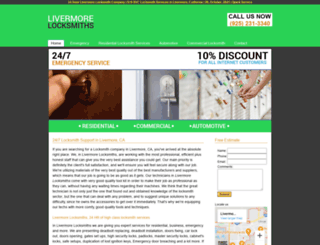 livermorelocksmiths.biz screenshot