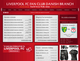liverpool-fc.dk screenshot