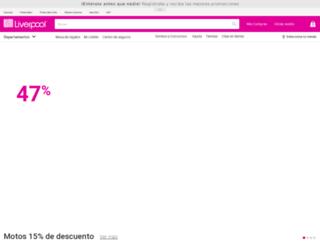liverpool.com.mx screenshot