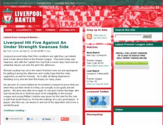 liverpoolbanter.co.uk screenshot