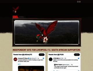 liverpoolfc.co.za screenshot