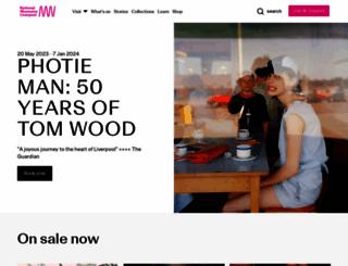 liverpoolmuseums.org.uk screenshot