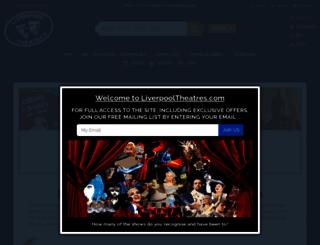 liverpooltheatres.com screenshot