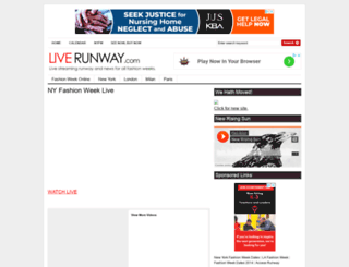 liverunway.com screenshot