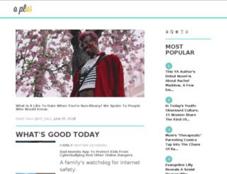 lives.aplus.com screenshot