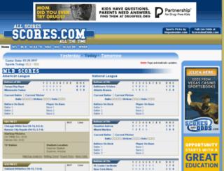 lives.scores.com screenshot