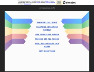 livescores.site screenshot