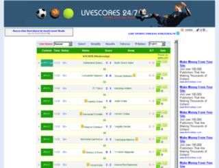livescores247.com screenshot