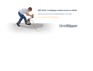 liveskipper.com screenshot