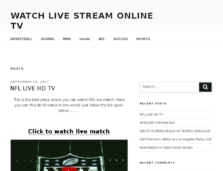 livesporsstream.com screenshot