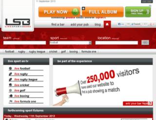 livesportsbars.tv screenshot