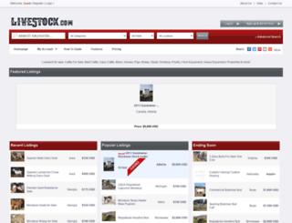 livestock.com screenshot