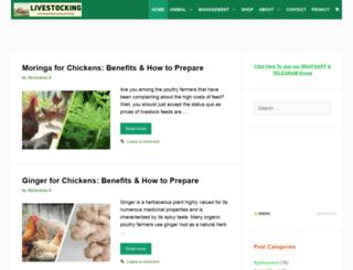 livestocking.com screenshot