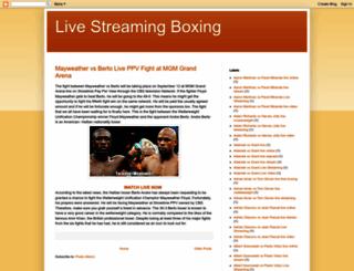 livestreaming-boxing.blogspot.com screenshot