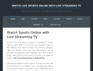 livestreaming-tv.com screenshot