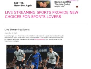 livestreamingsports.bravesites.com screenshot
