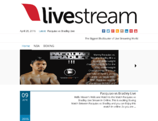 livestreamtvsports.com screenshot