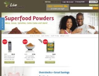 livesuperfoods.net screenshot