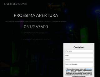 livetelevision.it screenshot