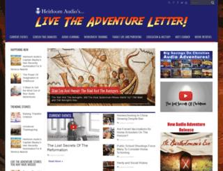 livetheadventureletter.com screenshot