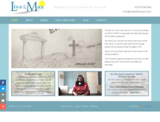 livetothemax.com screenshot