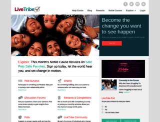 livetribe.com screenshot