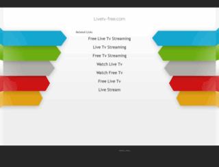 livetv-free.com screenshot