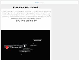 livetv.nurulamin.net screenshot