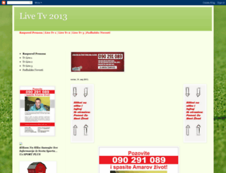 livetv2013.blogspot.com screenshot