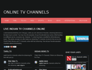 livetvchannelsonlinefree.com screenshot