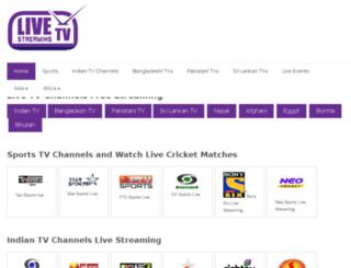 livetvstreamingfree.com screenshot