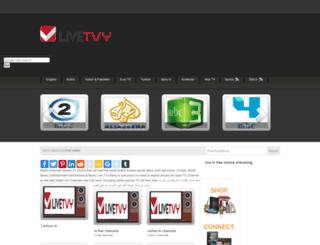livetvy.com screenshot