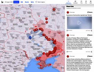 liveuamap.com screenshot