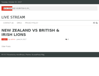 livevstream.net screenshot