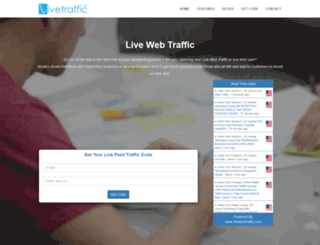 livewebtraffic.com screenshot