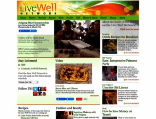 livewellnetwork.com screenshot