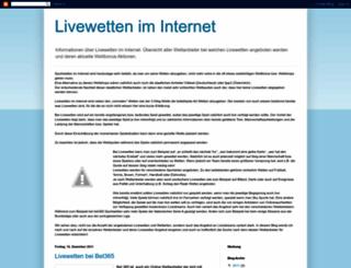 livewetten.blogspot.com screenshot