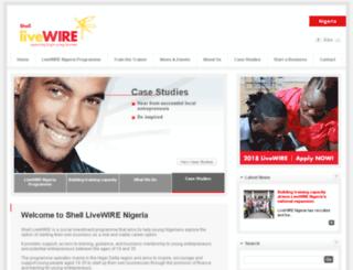 livewire-nigeria.org screenshot