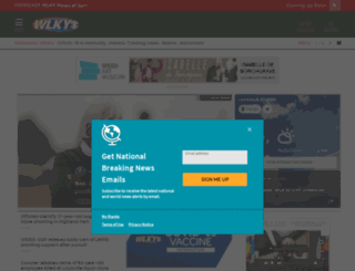 livewire.wlky.com screenshot