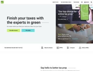 livewiretax.com screenshot