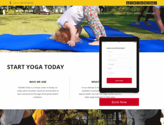 livewithyoga.com screenshot