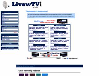 livewtv.com screenshot